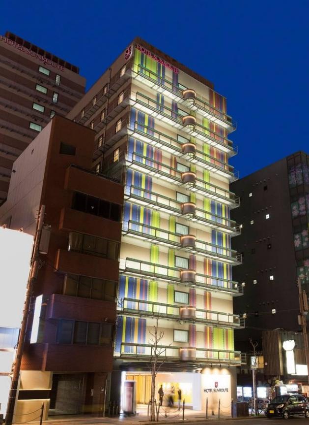 Hotel Sunroute Osaka Namba